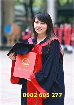 Chuyên bán áo cử nhân tốt nghiệp cao đẳng