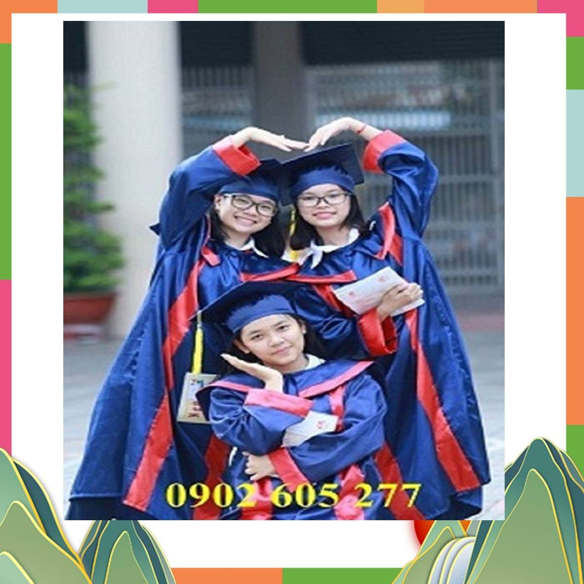 Mua áo cử nhân lớp 9 cho học sinh tại Kon Tum