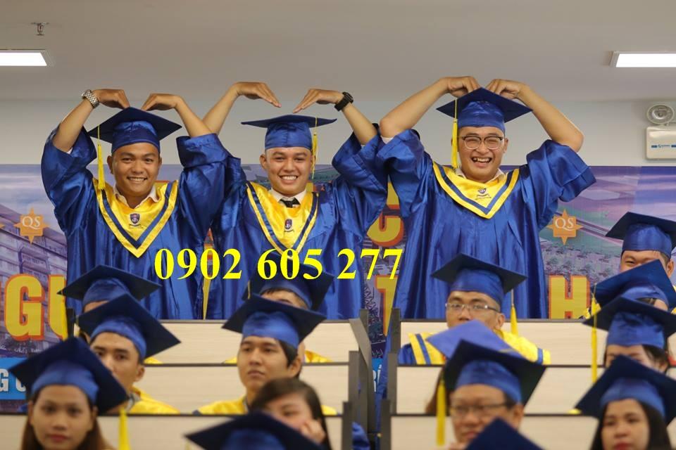 Cho thuê đồ cử nhân sinh viên đại học quận Bình Thạnh