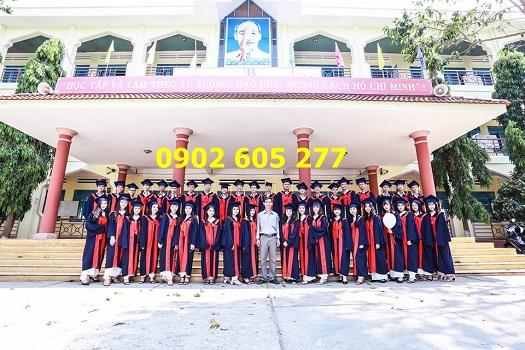 Bán áo cử nhân chụp kỷ yếu sinh viên năm 2019