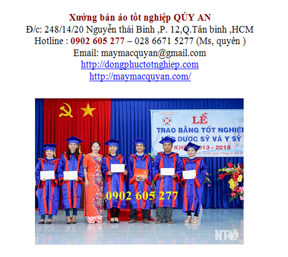 Địa chỉ bán đồ tốt nghiệp tại quận Phú Nhuận