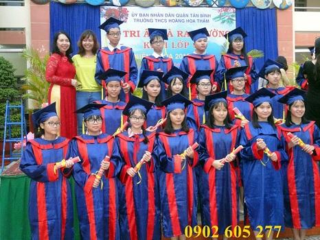 Xưởng bán lễ phục tốt nghiệp cấp 2
