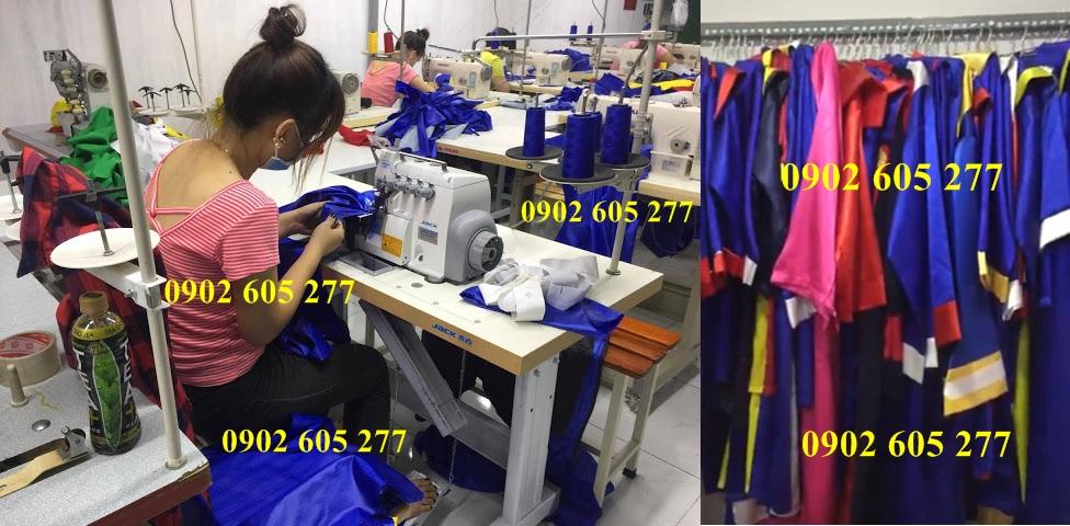 500 bộ đồ tốt nghiệp tiểu học có sẵn tại xưởng Phú Nhuận