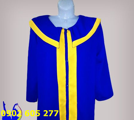 Xưởng may áo cử nhân học sinh tiểu học