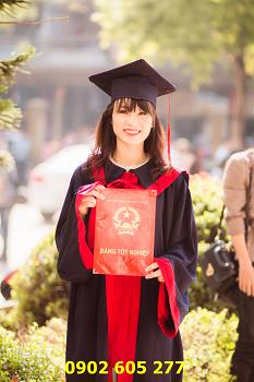 Xưởng bán lễ phục tốt nghiệp sinh viên cao đẳng