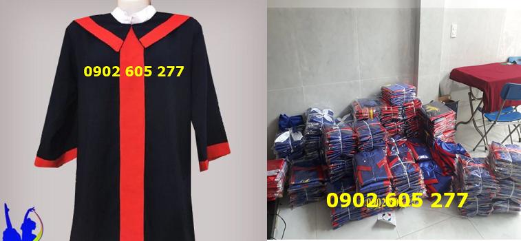 Bán áo cử nhân cấp 2 chất lượng, giá rẻ