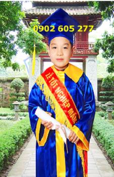 Bán áo tốt nghiệp cấp 1 chất lượng