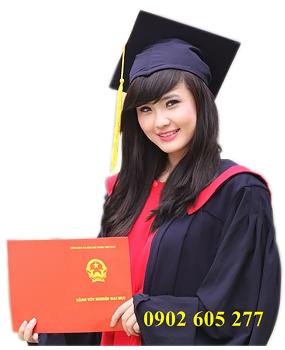 Xưởng may lễ phục tốt nghiệp cao đẳng
